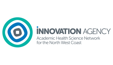 Innovation Agency logo - Academic Health Science Network for the North West Coast