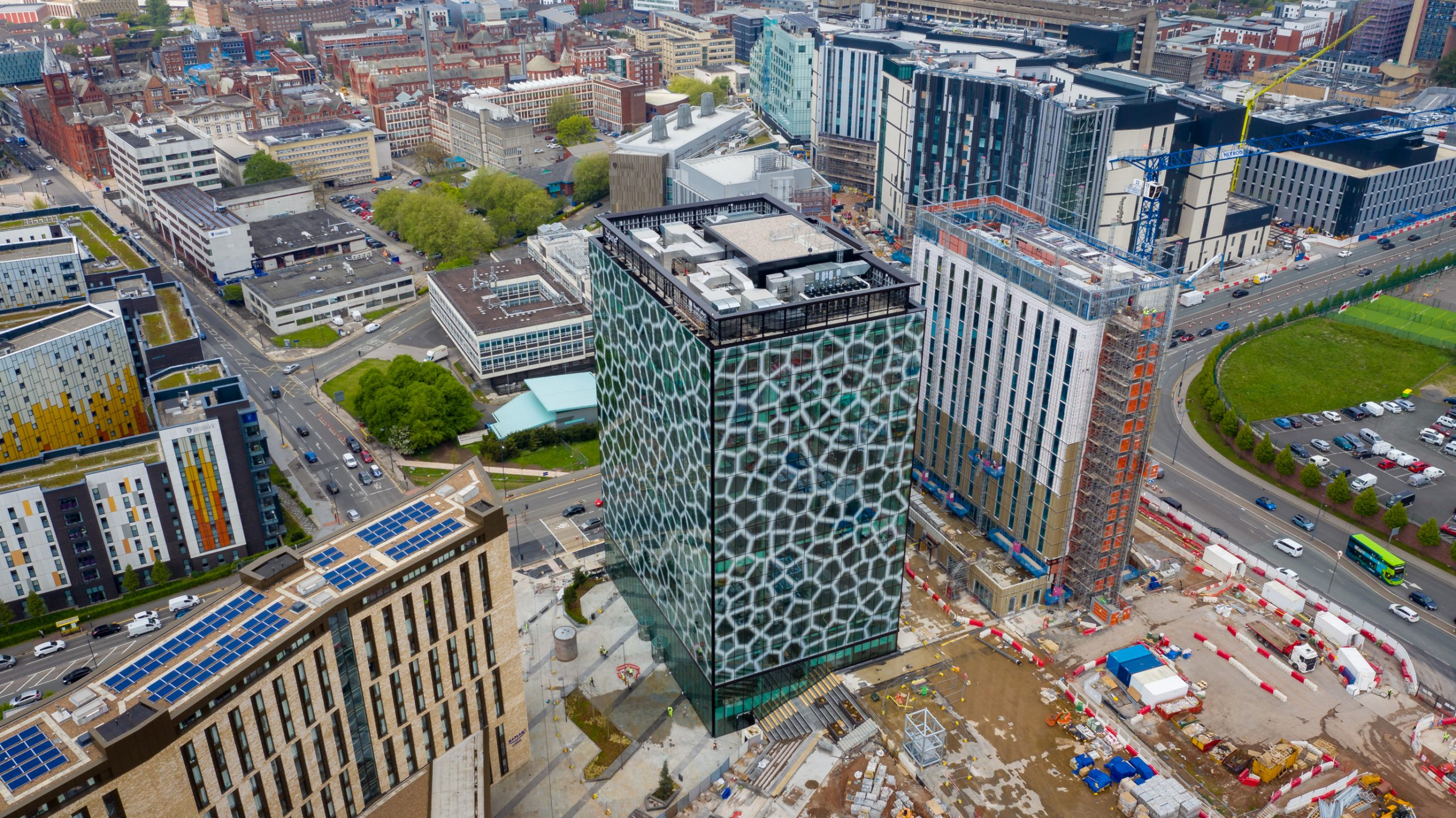 The Spine building. Picture Andrew Smith